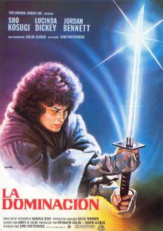 Ninja III Spanish poster