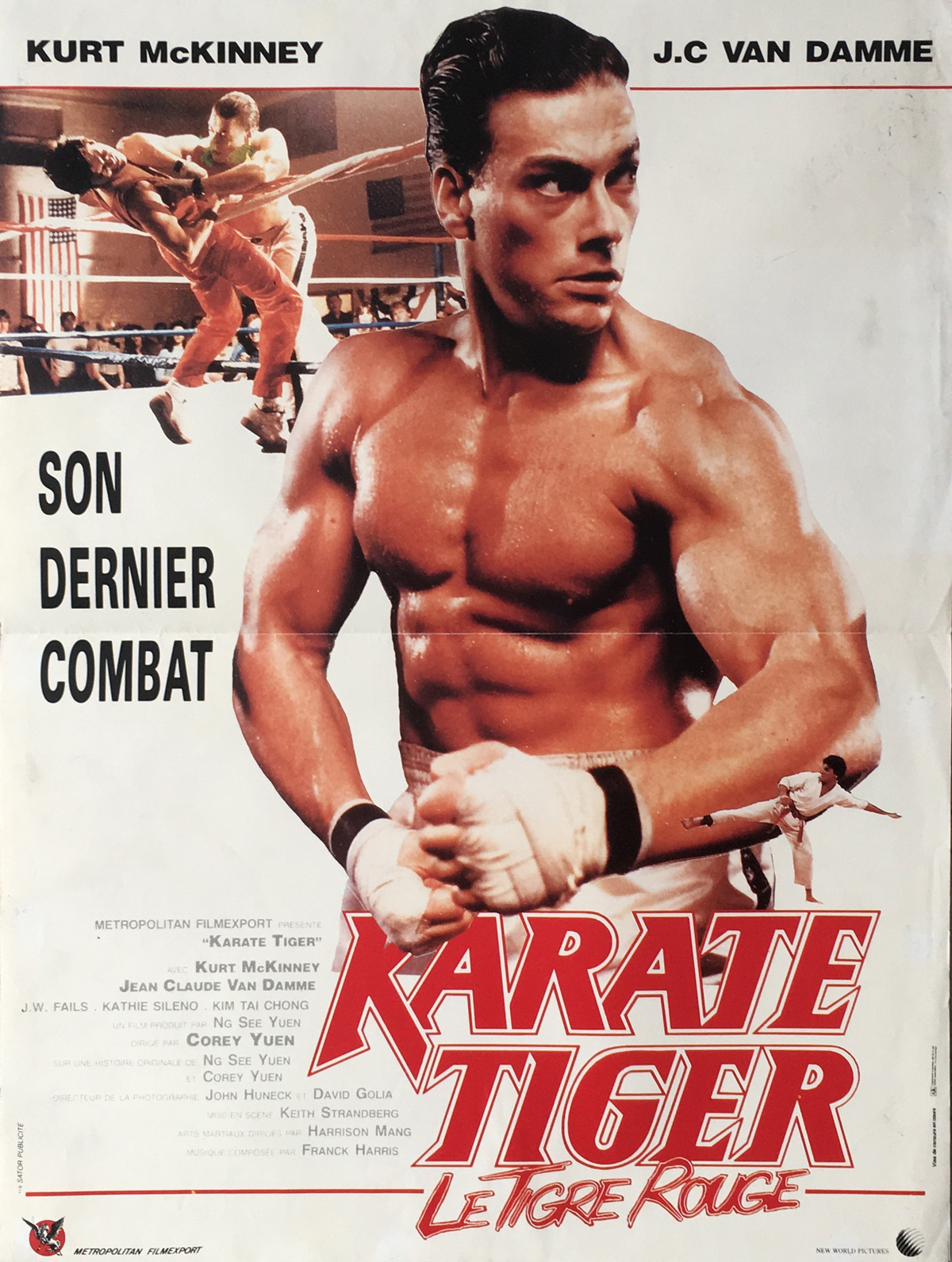 No Retreat No Surrender French poster