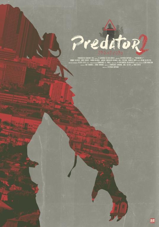 Predator 2 poster Gokaiju