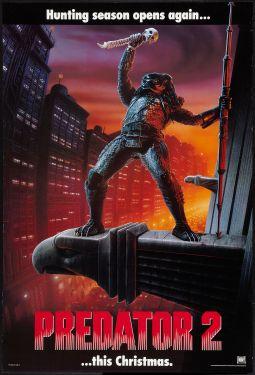 Predator 2 teaser poster