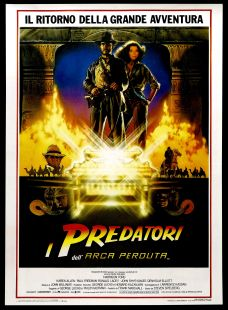 Raiders of the Lost Ark Italian poster