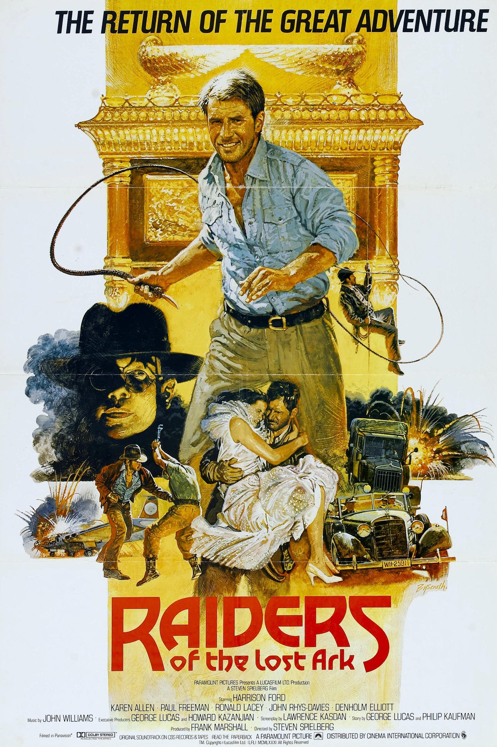 Raiders of the Lost Ark alternate poster