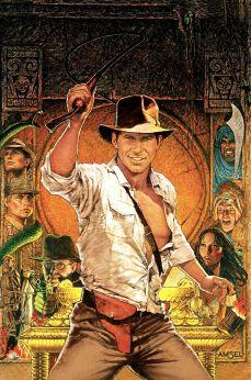 Raiders of the Lost Ark original artwork