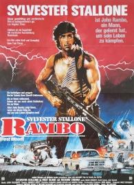 Rambo First Blood German poster