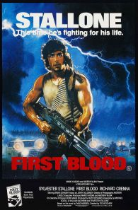 Rambo First Blood alternate poster