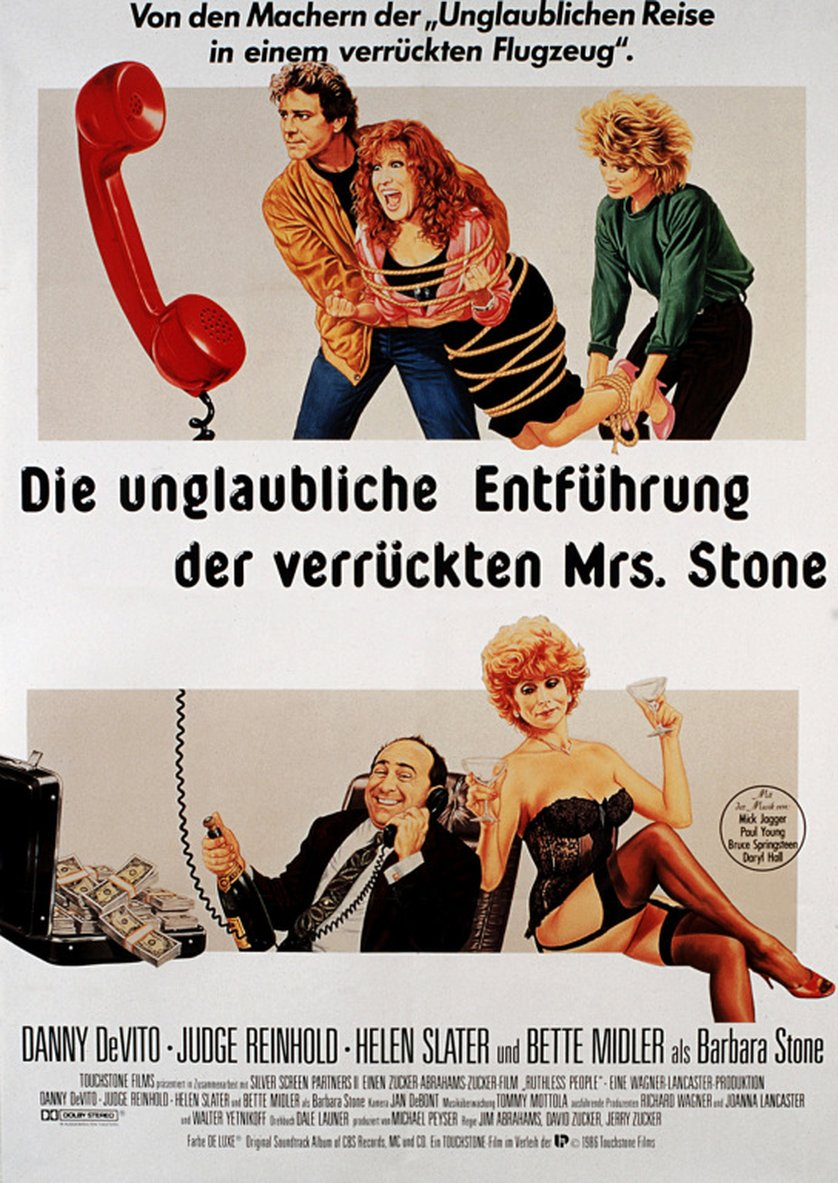 Ruthless People German poster