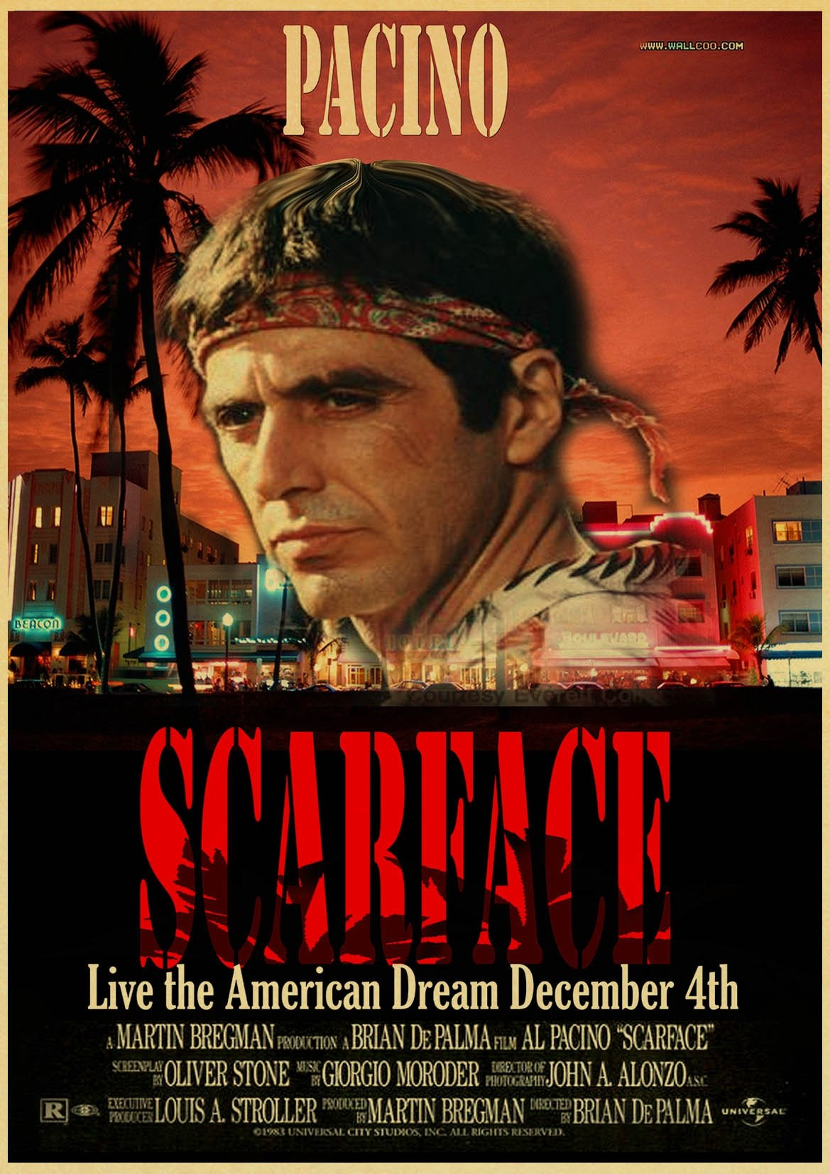 Scarface alternate poster 3