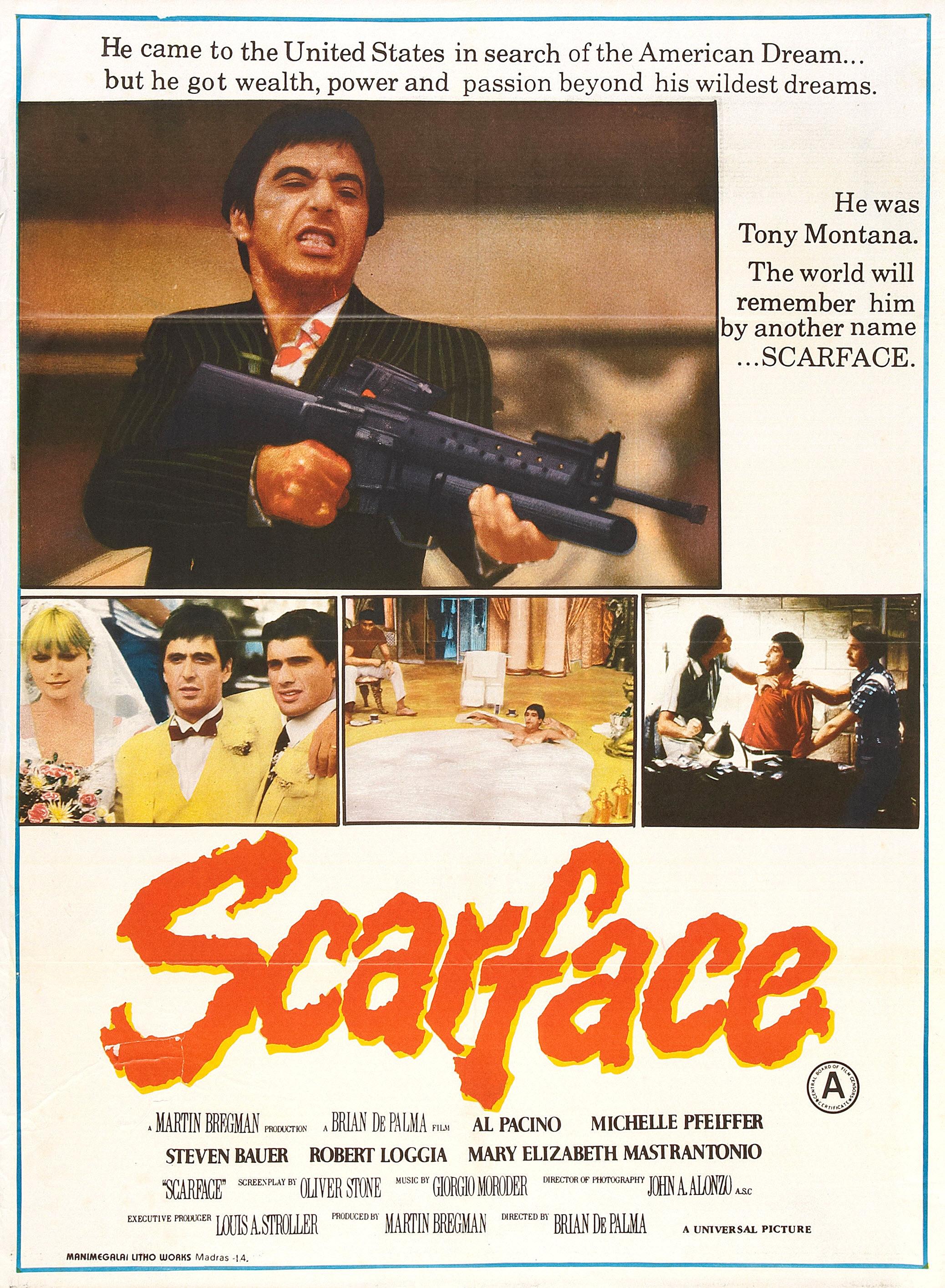 Scarface magazine ad