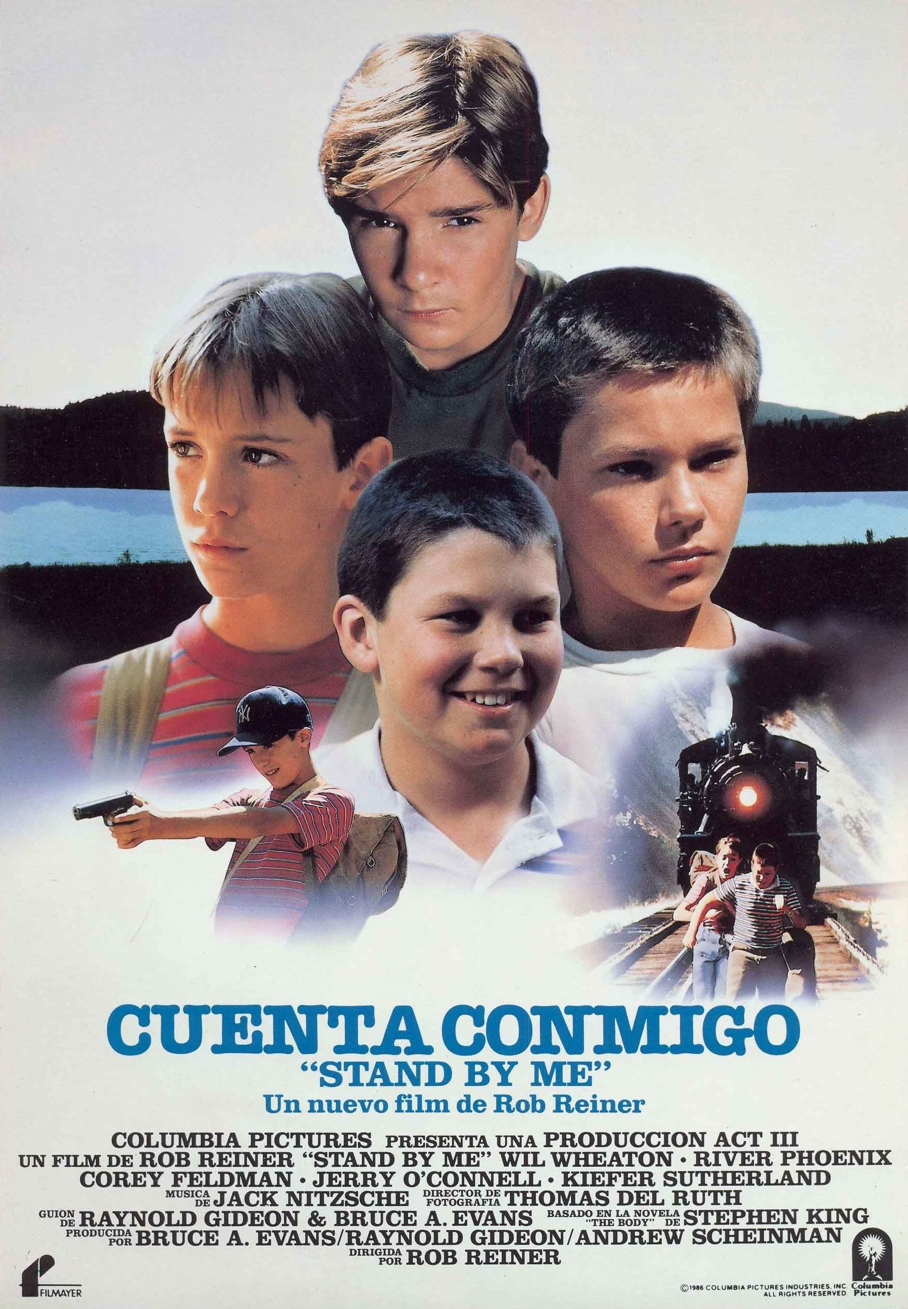Stand By Me Spanish poster