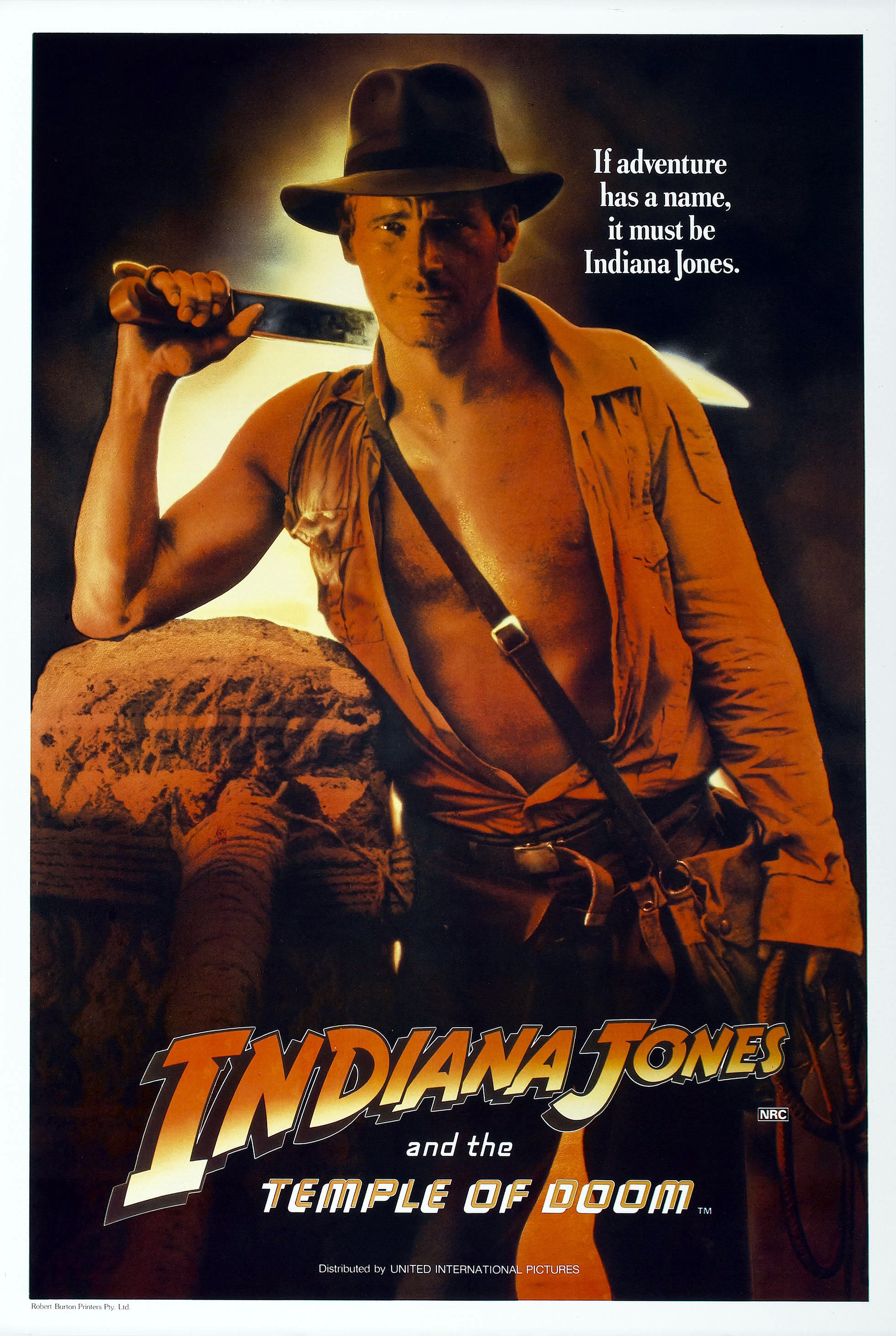 Temple of Doom alternate poster 2