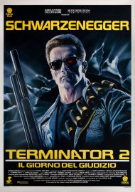 Terminator 2 Italian poster