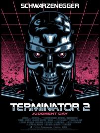 Terminator 2 poster James White
