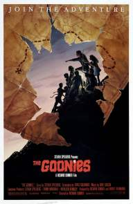 The Goonies alternate poster