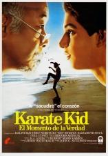 The Karate Kid Spanish poster