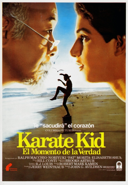 The Karate Kid Spanish poster