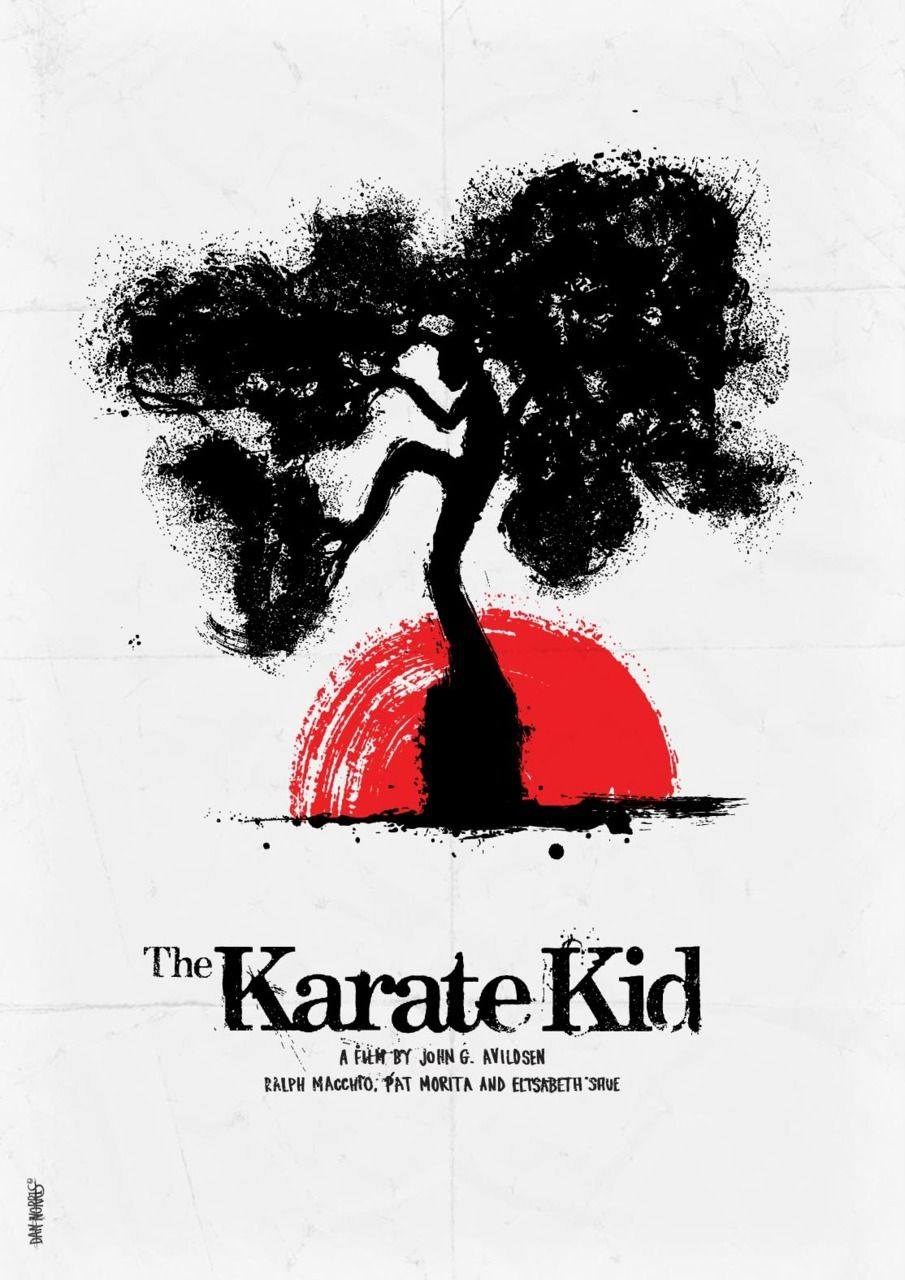 The Karate Kid poster Daniel Norris
