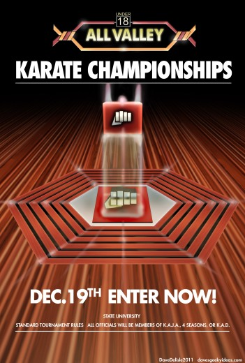 The Karate Kid tournament poster