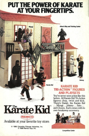 The Karate Kid toy ad