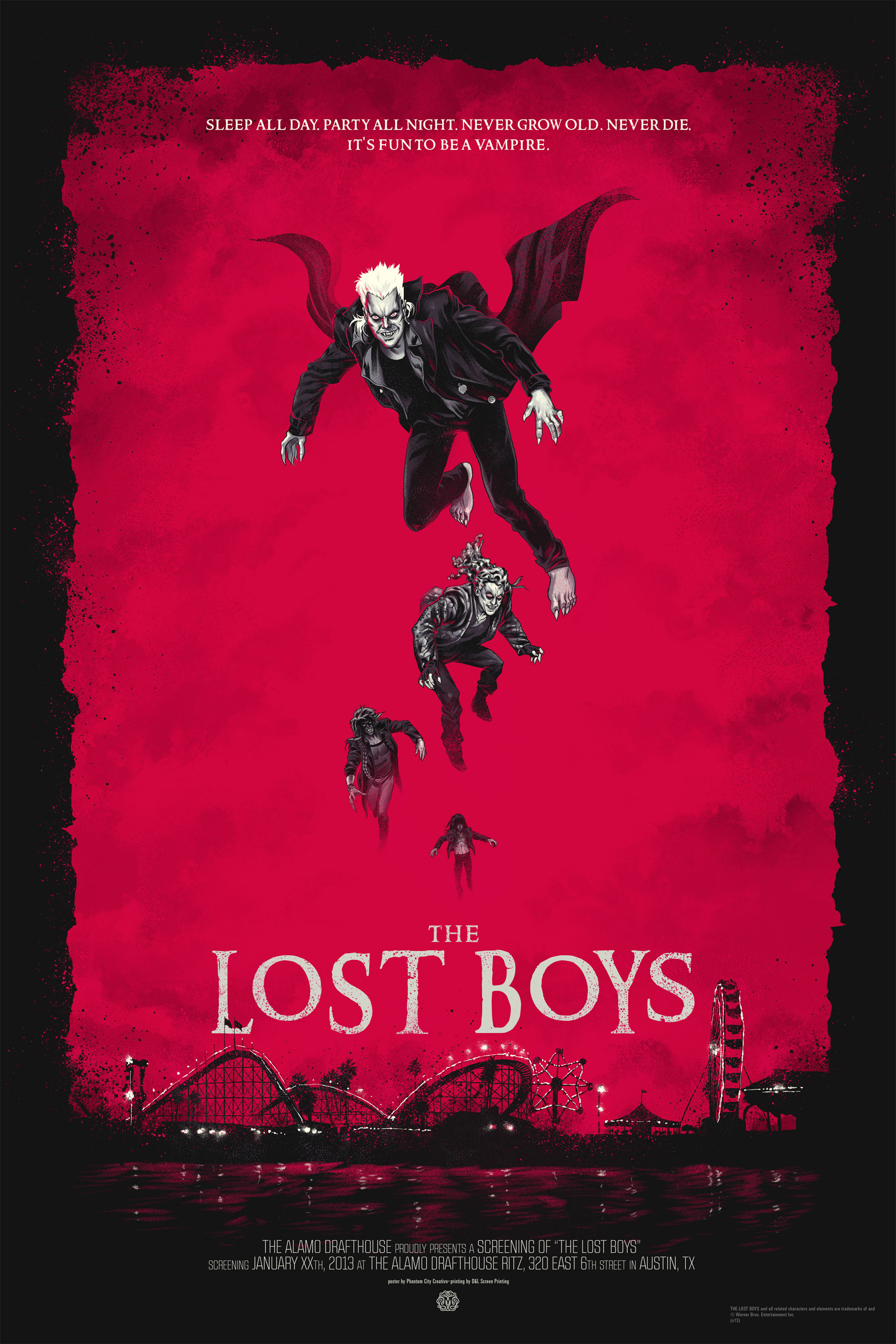 The Lost Boys poster Justin Erickson