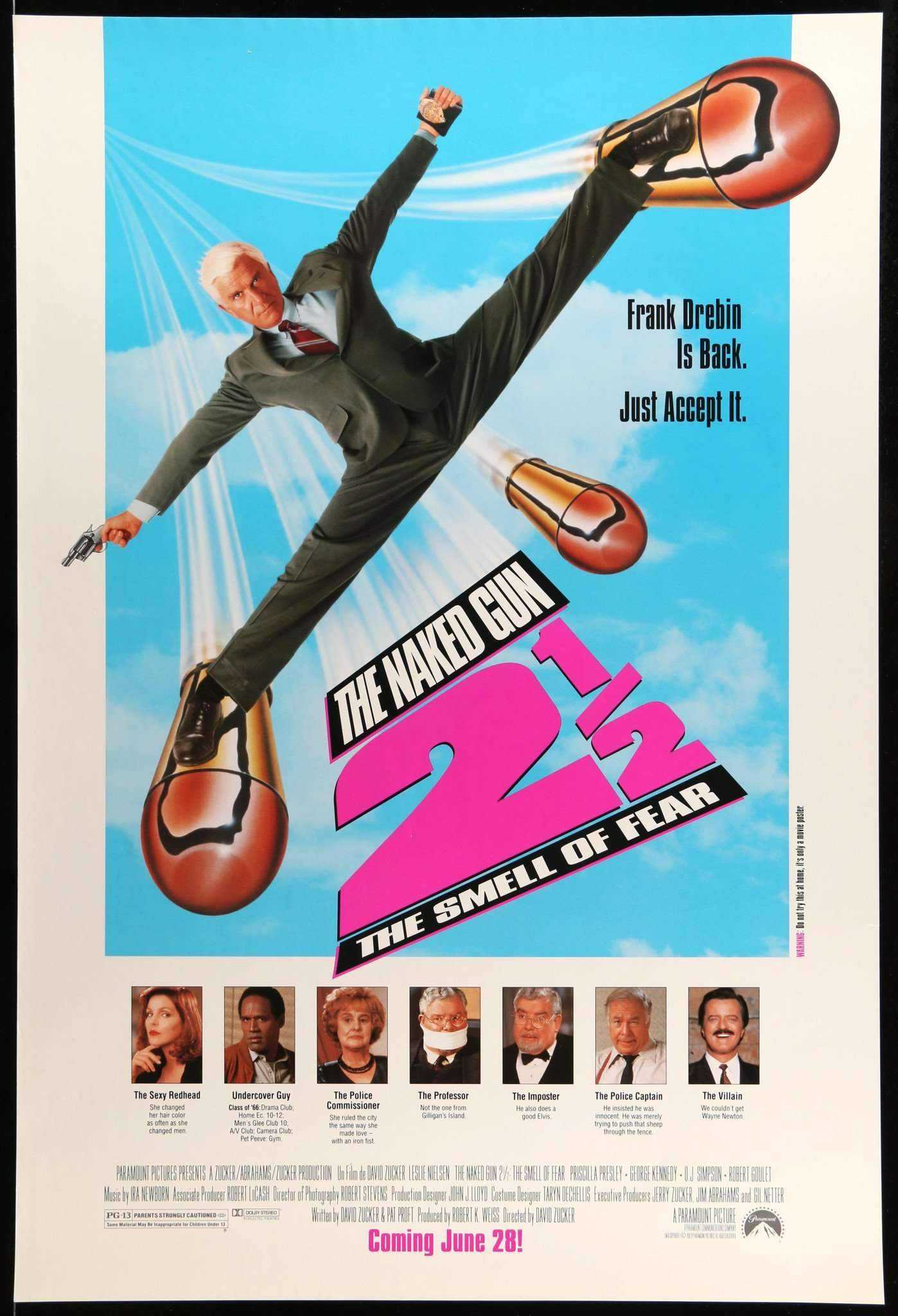 The Naked Gun 2 poster