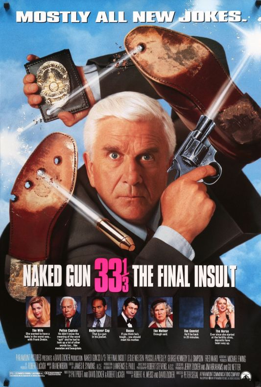 The Naked Gun 3 poster