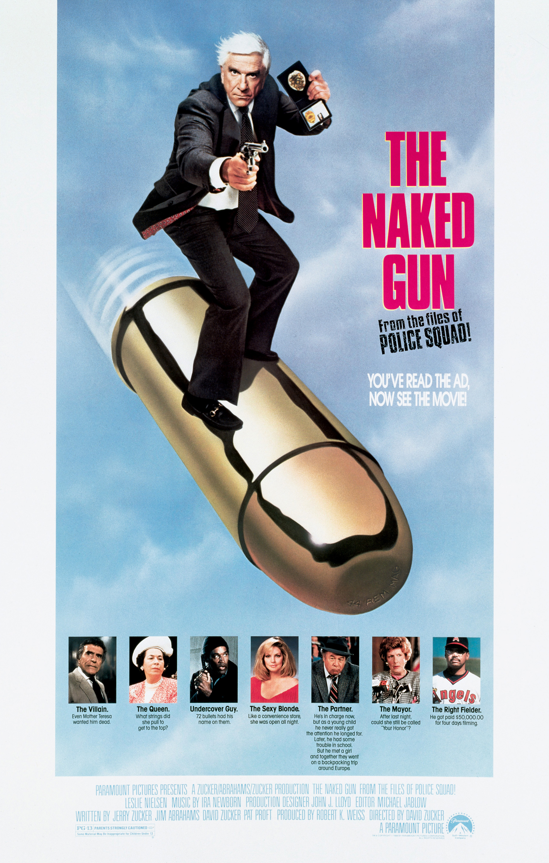 The Naked Gun poster