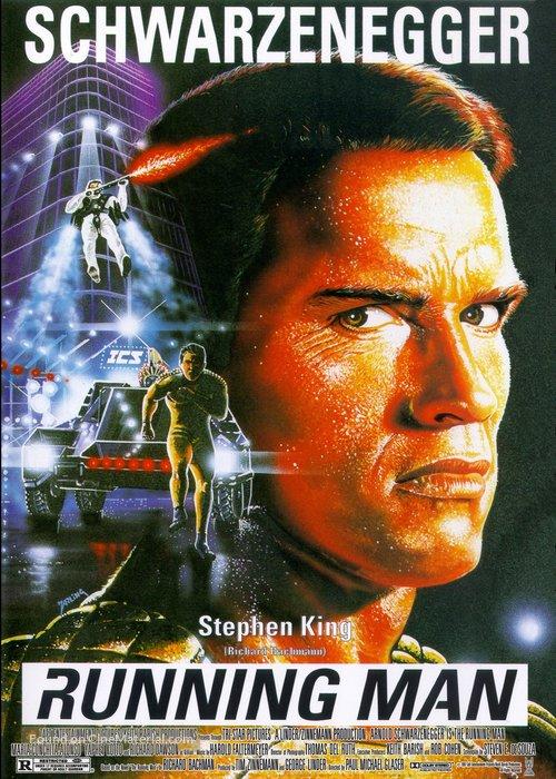 The Running Man alternate poster 2
