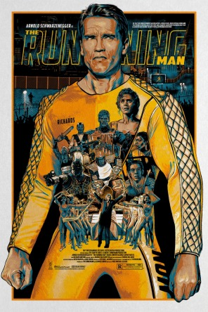 The Running Man poster Christopher Cox