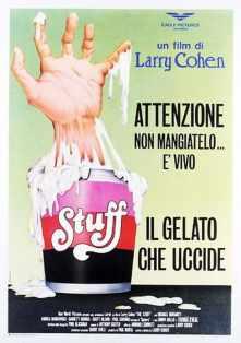 The Stuff Italian poster