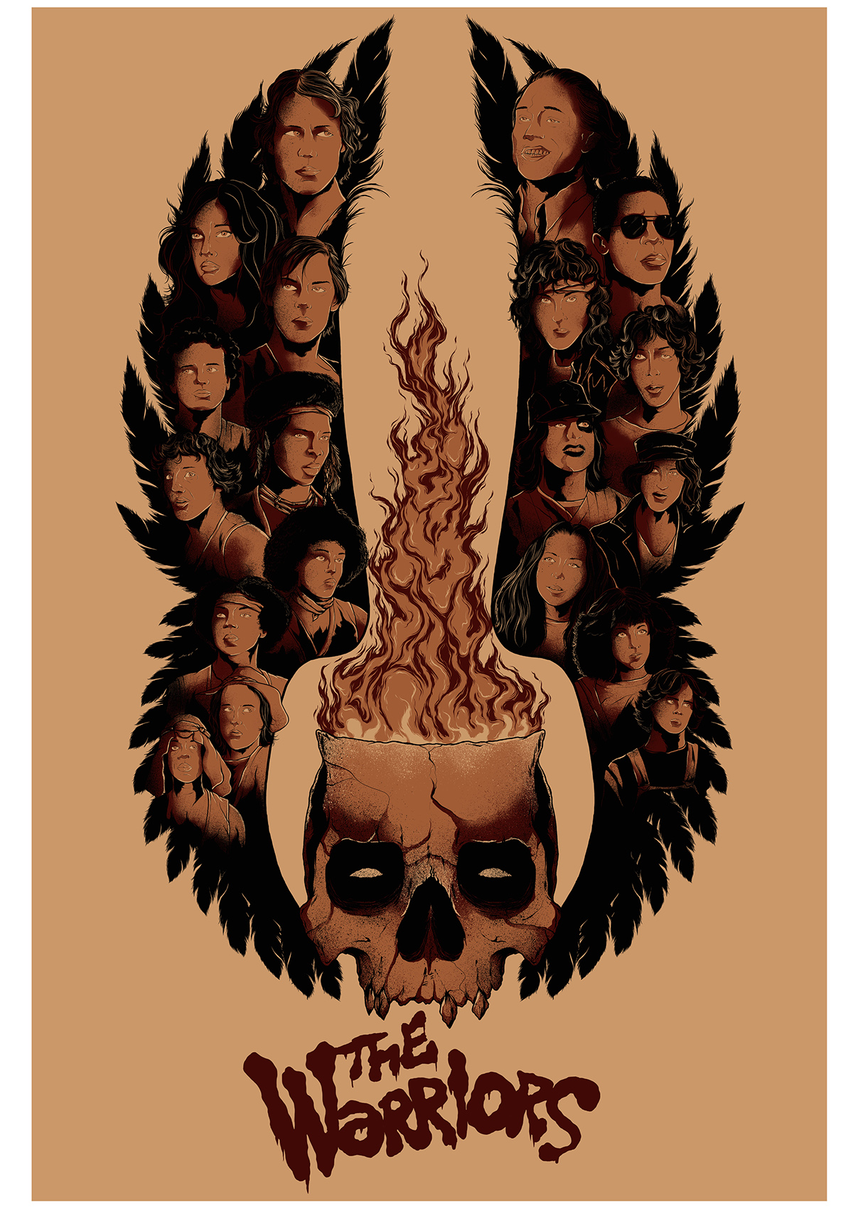 The Warriors poster Joshua Kelly