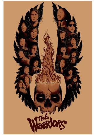 The Warriors poster Joshua Kelly