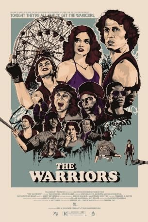 The Warriors poster Tyler Martis