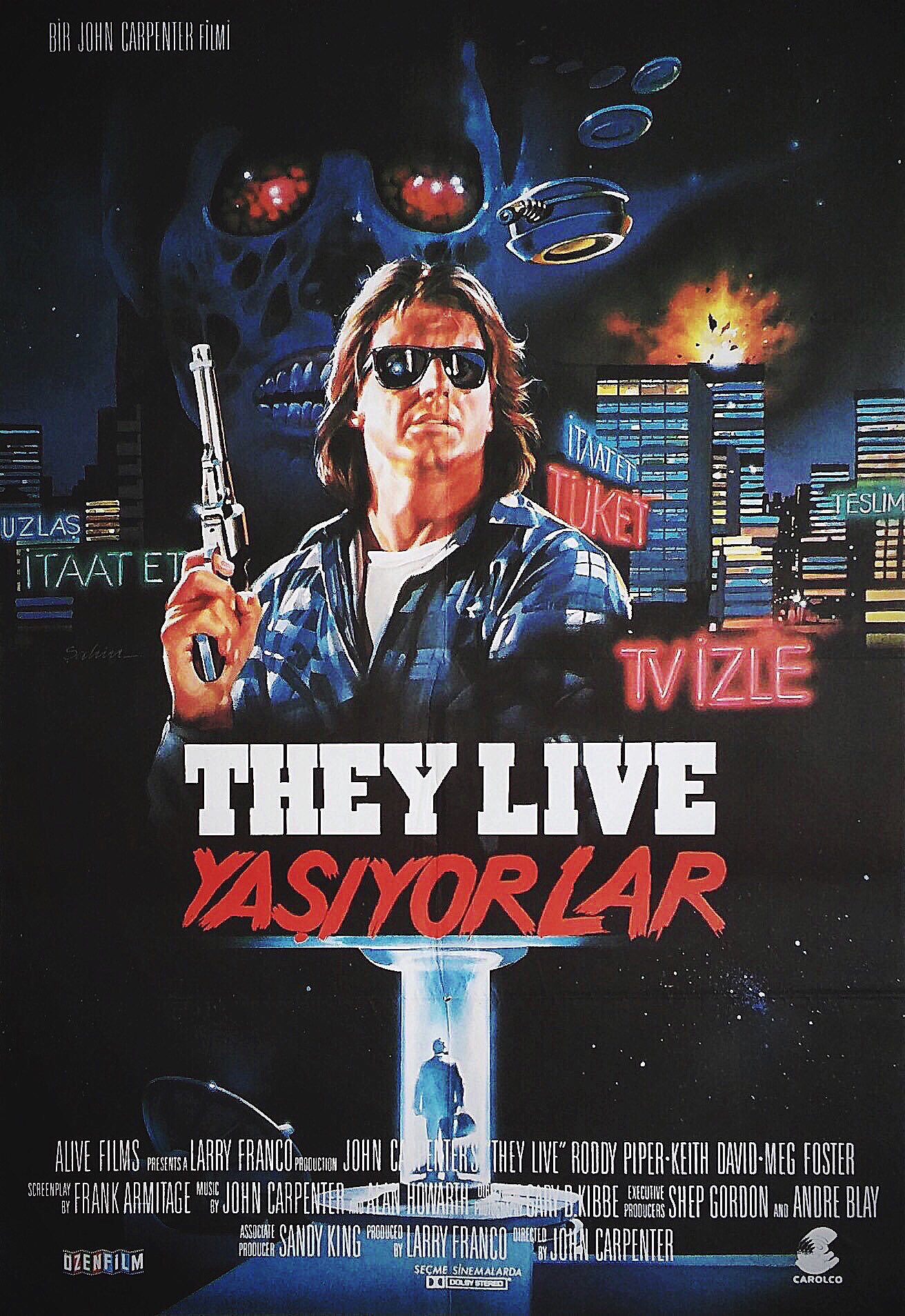 They Live Turkish poster