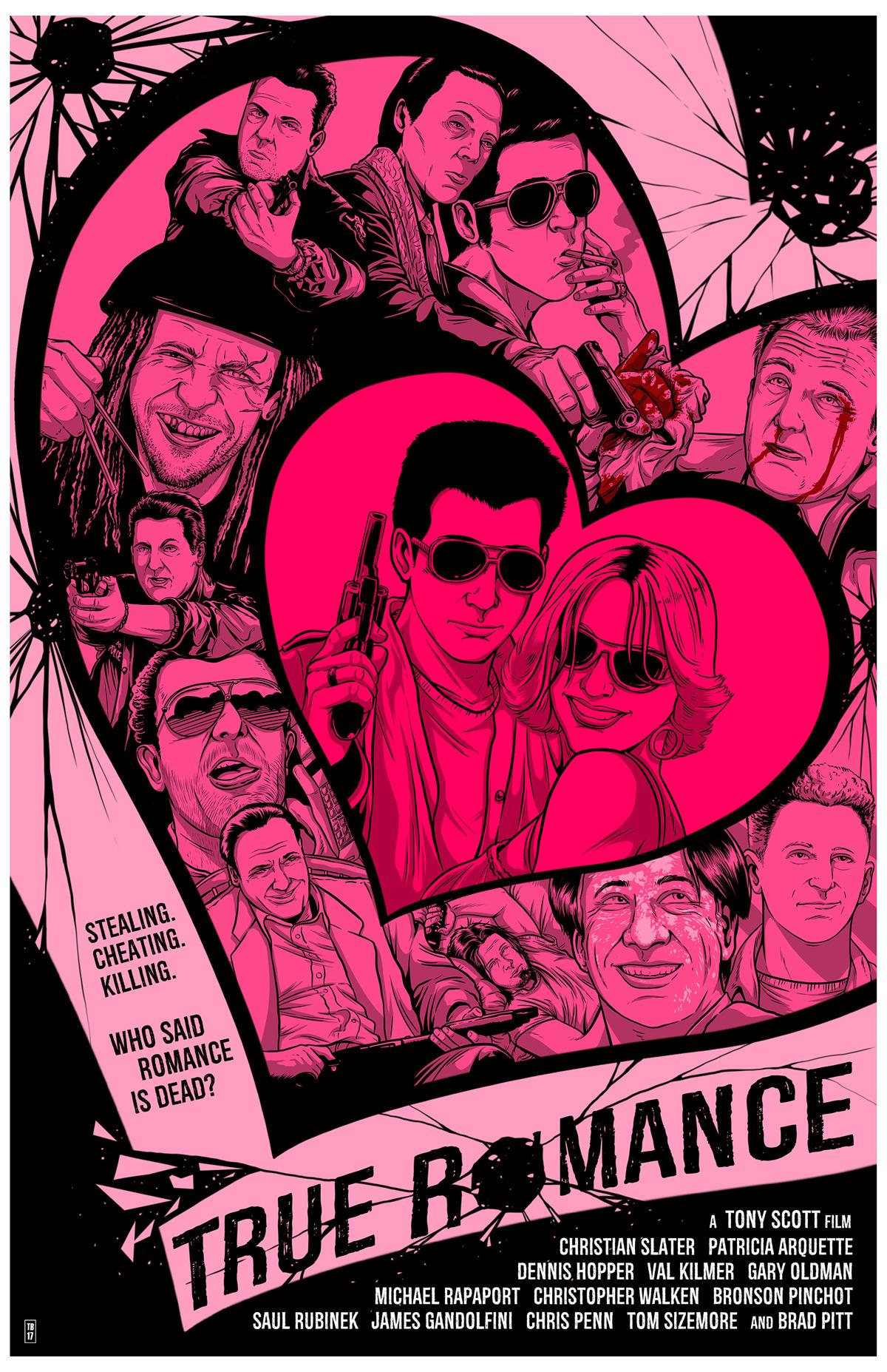 True Romance poster Travis Bundy