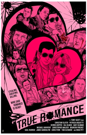 True Romance poster Travis Bundy