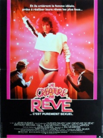 Weird Science French poster