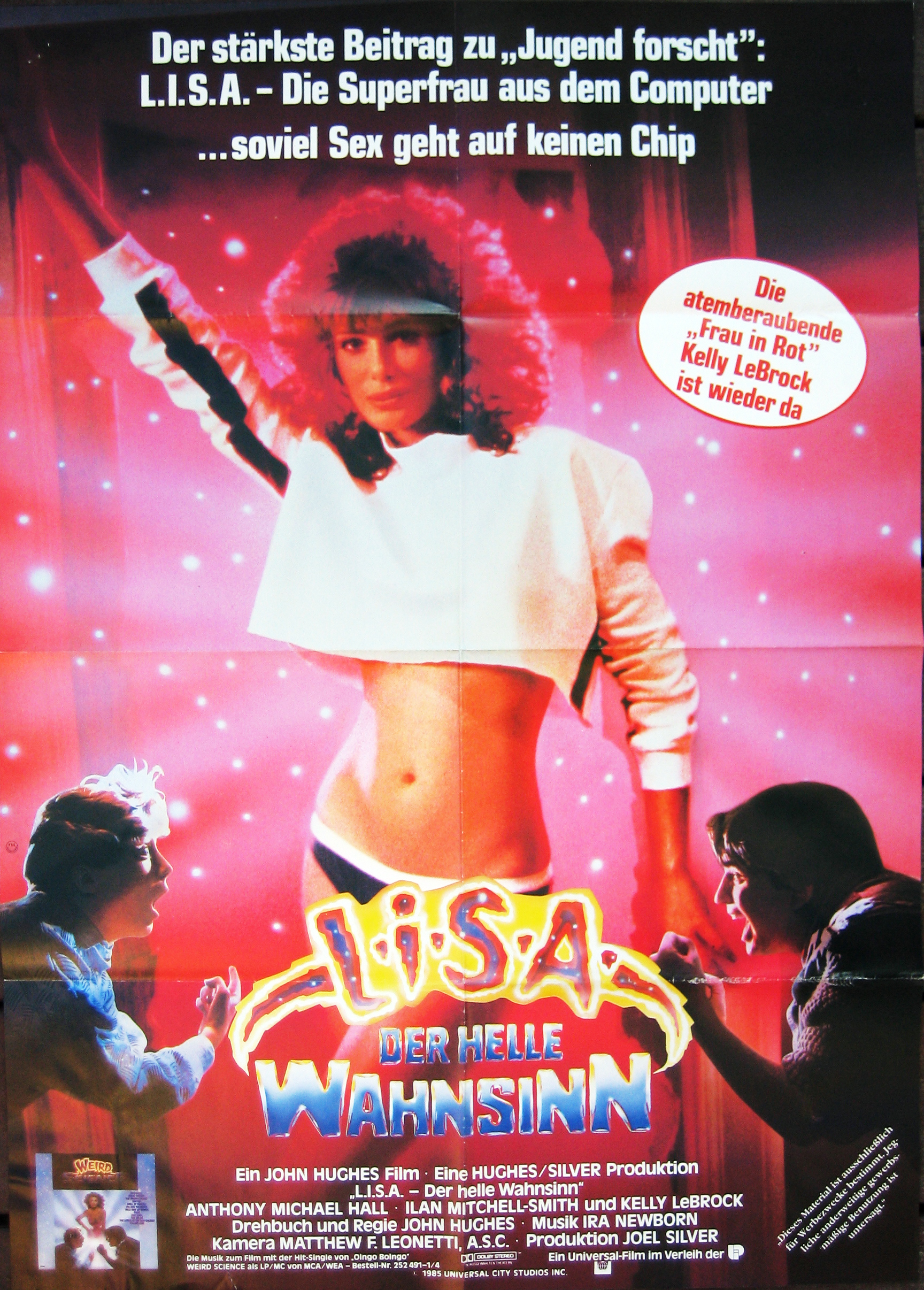 Weird Science German poster