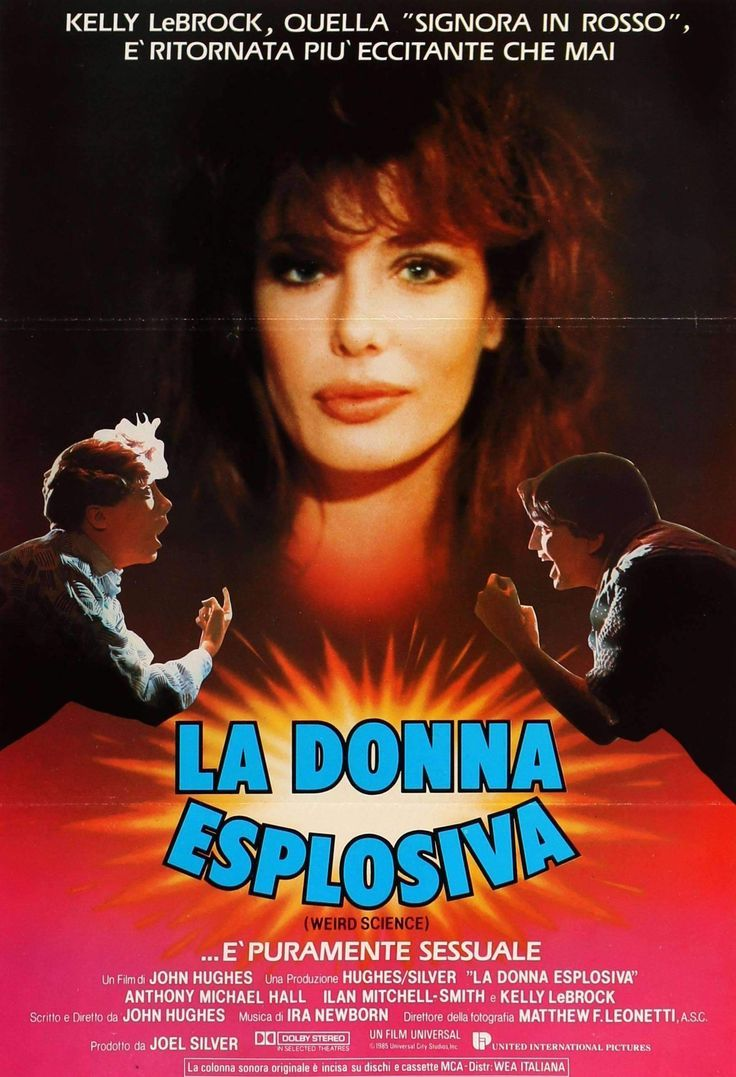 Weird Science Italian poster
