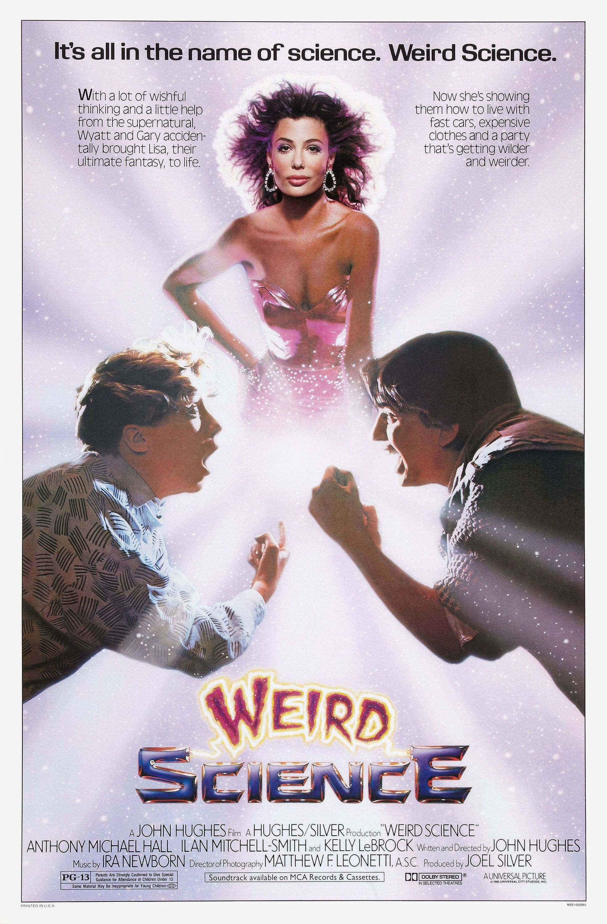 Weird Science alternate poster