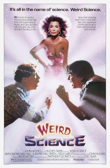 Weird Science alternate poster