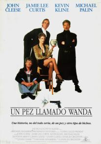 A Fish Called Wanda Spanish poster