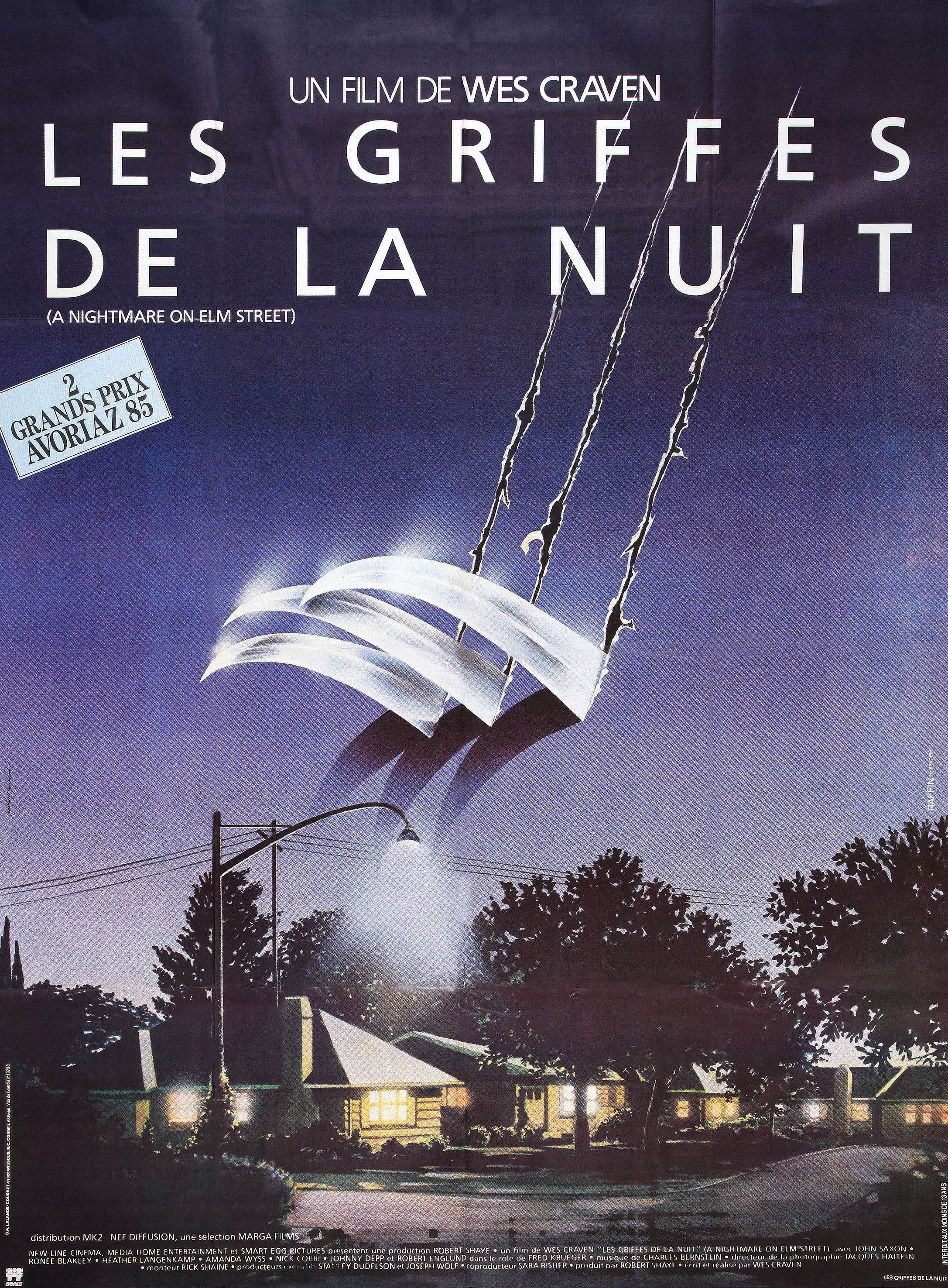 A Nightmare On Elm Street French poster