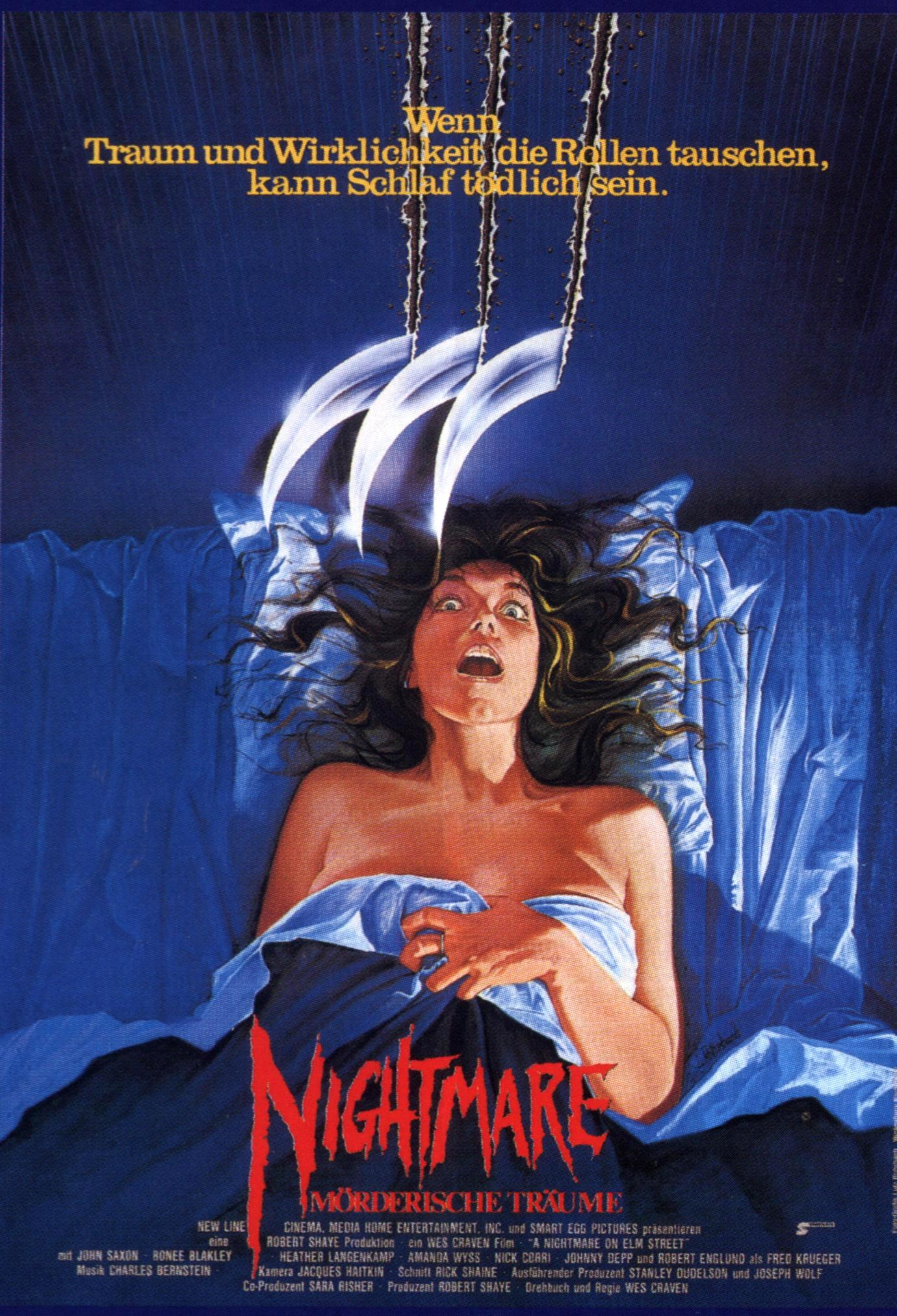 A Nightmare On Elm Street German poster