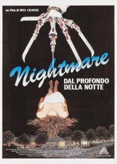 A Nightmare On Elm Street Italian poster