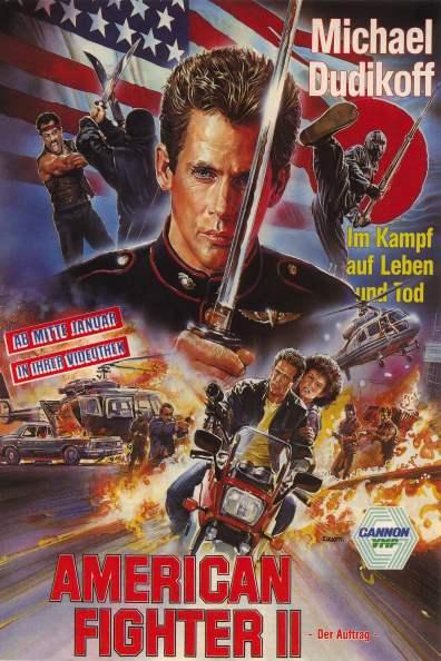 American Ninja 2 German poster