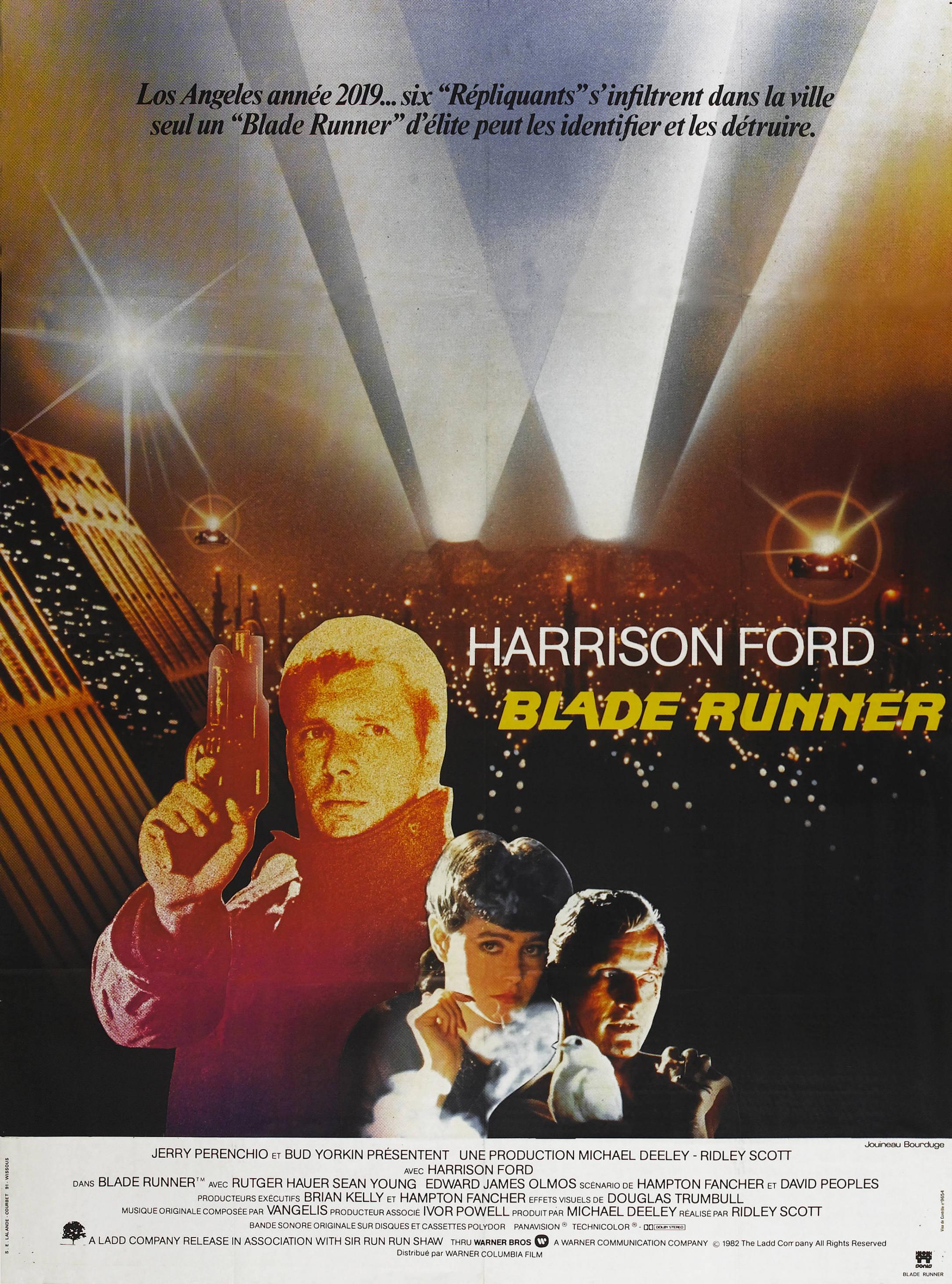 Blade Runner French poster
