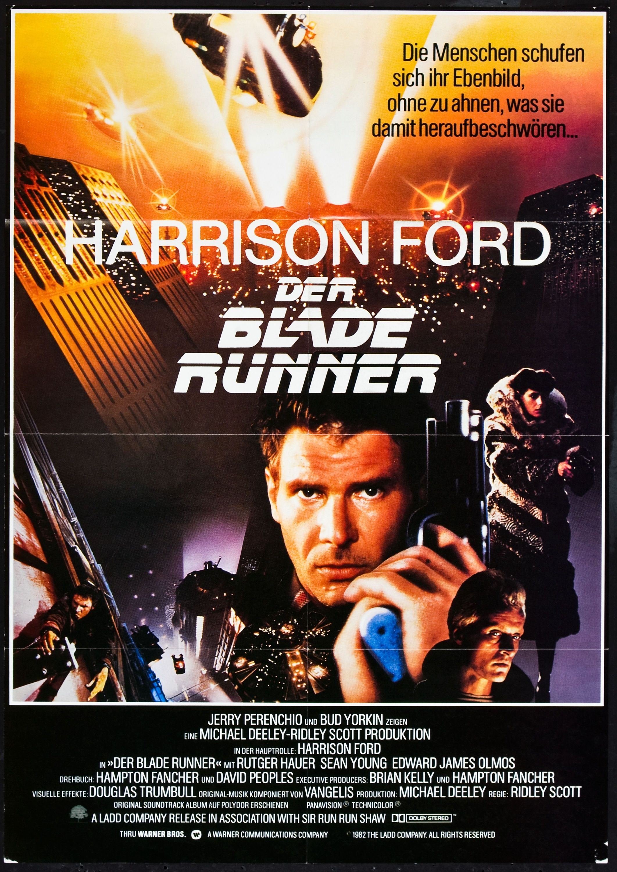 Blade Runner German poster