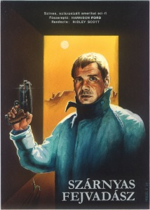 Blade Runner Hungarian poster