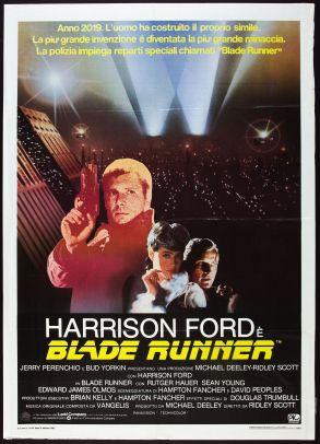 Blade Runner Italian poster