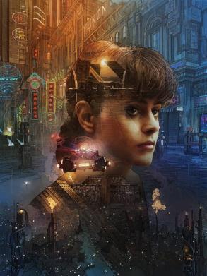 Blade Runner poster Krzysztof Domaradzki